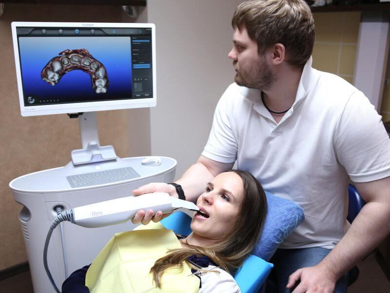 Использование внутриротового сканера iTero в стоматологической клинике Гарант во Владивостоке