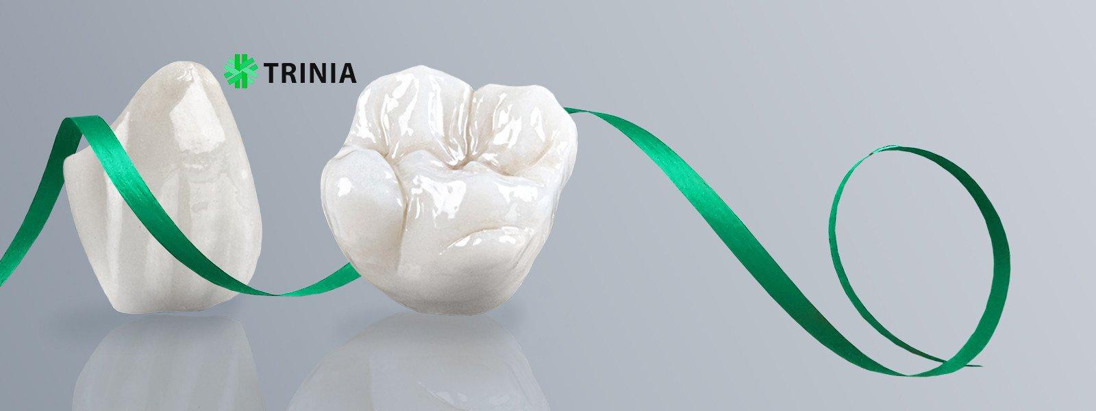 Новейшая разработка в стоматологии!  ПротезированиеTRINIA